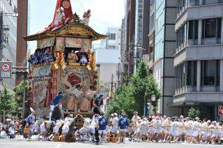 祇園祭・山鉾巡行(イメージ) 画像提供:PIXTA