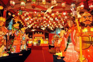 長崎ランタンフェスティバル(イメージ) 画像提供: (一社)長崎県観光連盟